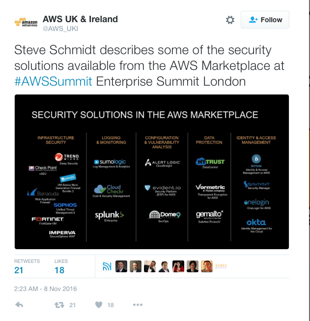 Saviynt available in the AWS marketplace 2016