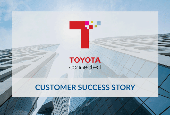 Toyota Connected customer success story
