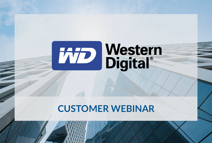 Western Digital customer webinar with Saviynt.