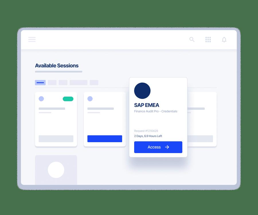 Cloud Platform Access Management UI