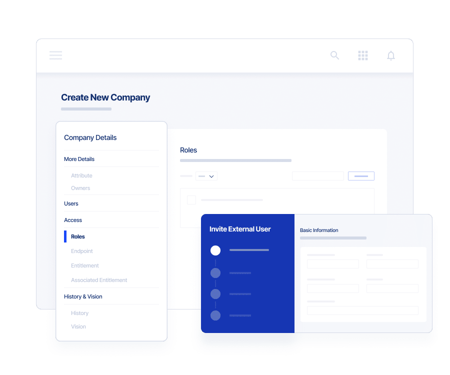 Third Party Access Governance UI